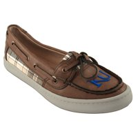 Kansas Jayhawks Women's Westend One Eye Moccasins - Brown