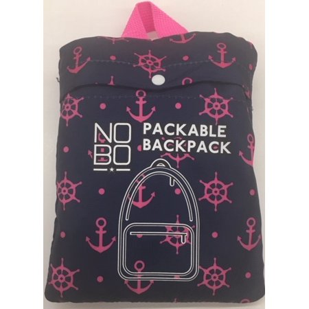 Packable Backpack Anchors Away