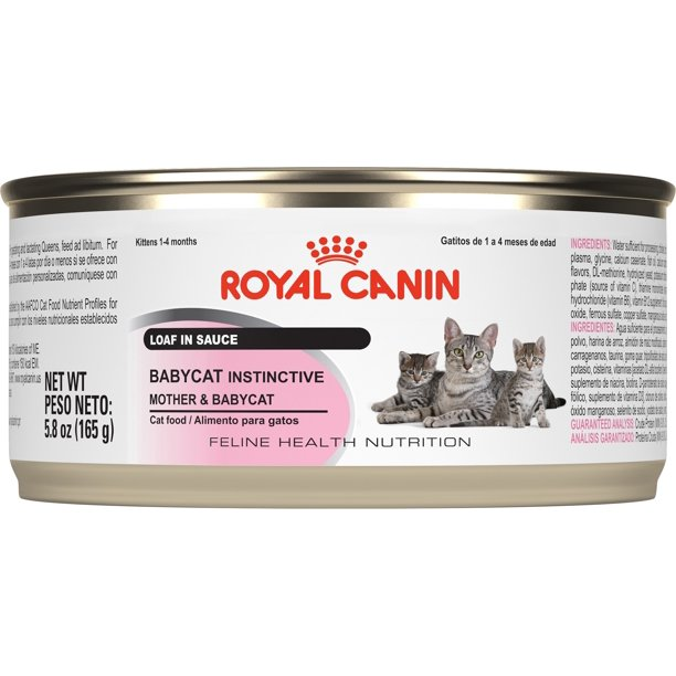 Royal Canin Babycat Instinctive Wet Cat Food 5 8 Oz Can 24 Pack Walmart Com Walmart Com