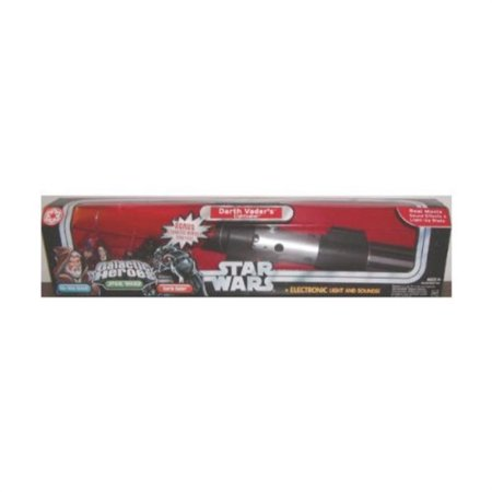 Star Wars Trilogy Galactic Heroes Obi-Wan & Darth Vader Lightsaber - RARE! - Bubble Wand Lightsaber