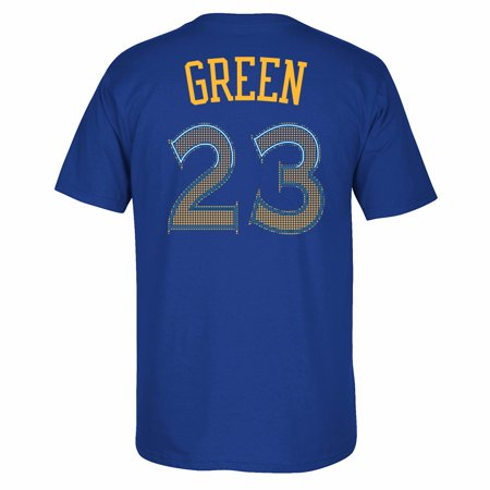 Draymond Green Golden State Warriors NBA NBA Blue Player Name & Number Short Sleeve T-Shirt For Men