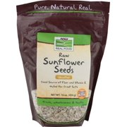NOW Foods Real Food Raw Sunflower Seeds Unsalted 16 oz