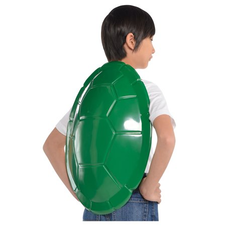 Halloween Costumes W (Amscan Teenage Mutant Ninja Turtles Shell, Halloween Costume Accessory for Kids, One Size, 16