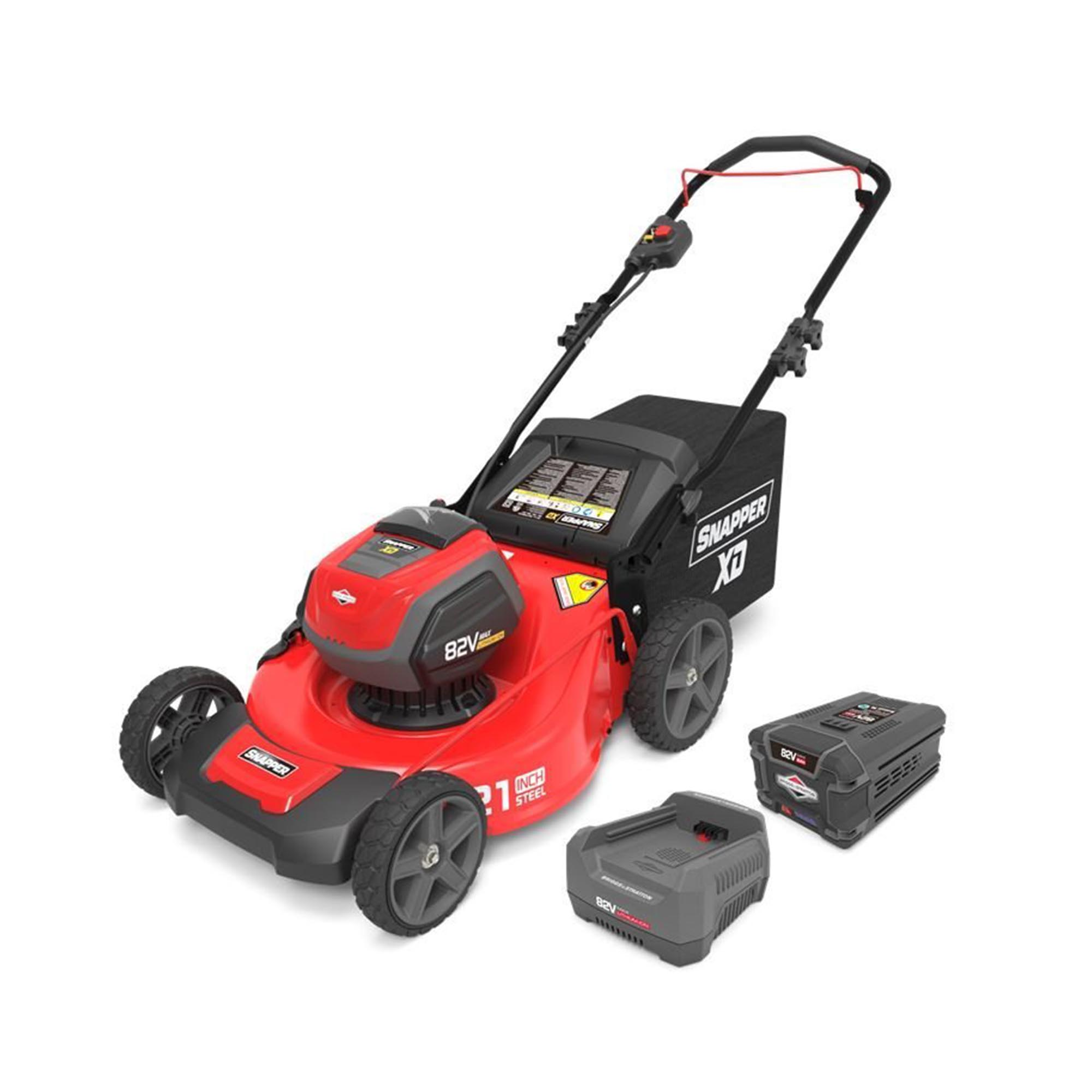 Snapper XD 82 Volt 21 Inch Cordless Lawn Mower w/ Battery & Charger   1687884