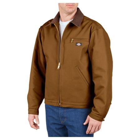 Dickies Mens Duck Blanket Lined Jacket, Brown Duck - 4X