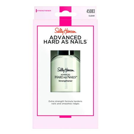 Sally Hansen Nail Hardener - Sally Hansen Advanced Hard As Nails Nail Strengthener, Clear