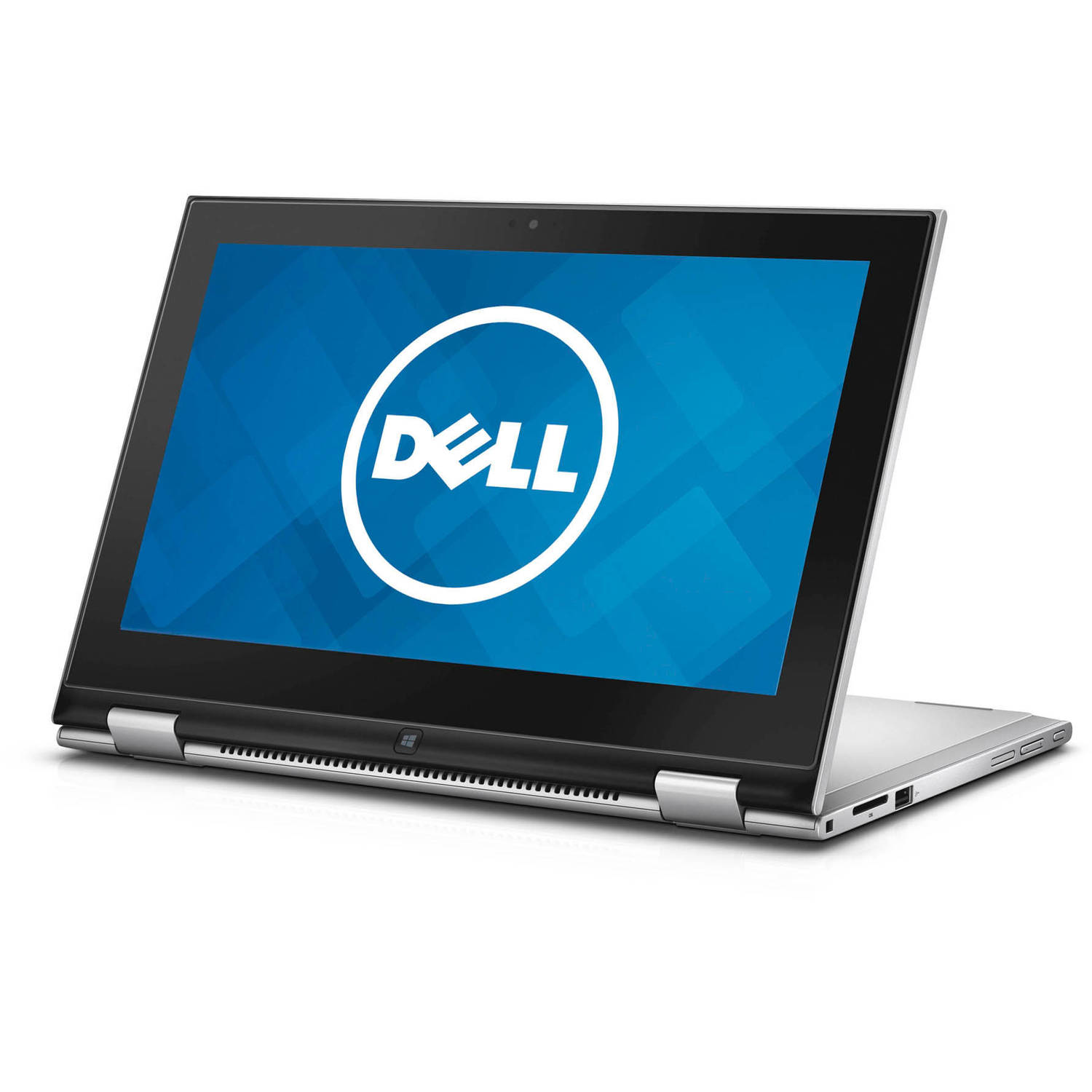 "Dell Silver 2-in-1 11.6"" Inspiron i3148-8840sLV Laptop PC with Intel Core i3-4030U Processor, 4GB Memory, Touchscreen, 500GB Hard Drive and Windows 8.1   (Eligible for Windows 10 upgrade)"