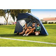 sports shoes 81b97 df462 Sport-Brella All-Weather 8-Foot Umbrella Canopy Shelter, Blue