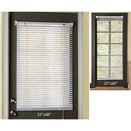 Easy Install Magnetic Window Blinds 25x40 Inch 25x68