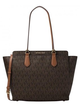 f3269cb490 Product Image Dee Dee Large Convertible Logo Tote - Brown - 30F6GTWT4B-200. Michael  Kors