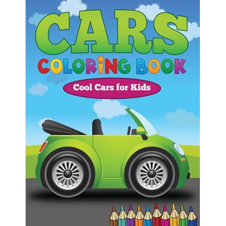 Cars Coloring Book : Cool Cars for Kids - Kid Friendly Halloween Coloring Pages