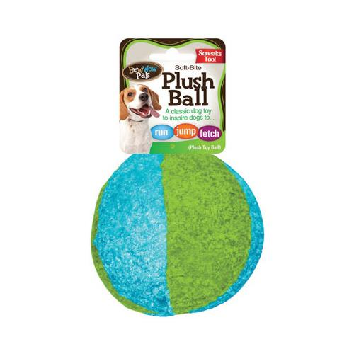 Flp 8853 Plush Ball Pet Toy - Quantity 24