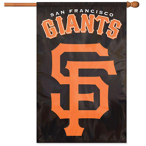 Party Animal SF Giants Applique Banner Flag