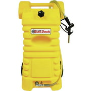 Moeller 25 Gallon Diesel Dock, Yellow