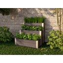 Vita Gardens URBANA 3x3 Tiered Composting Garden