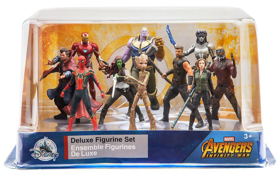 Marvel Avengers: Infinity War 10-Piece Deluxe PVC Figure Playset by