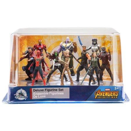 Sif Ex Pvc Figure (Marvel Avengers: Infinity War 10-Piece Deluxe PVC Figure Playset )