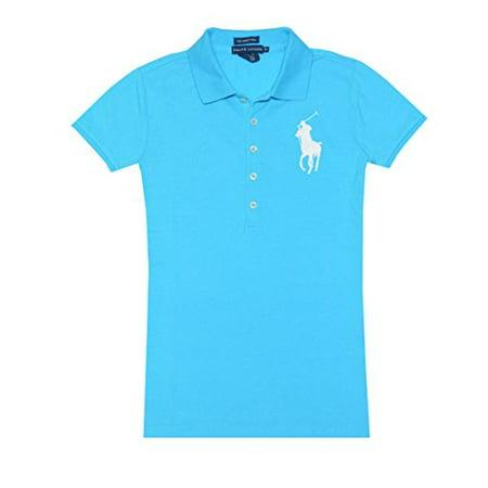Ralph Lauren Women Big Pony Skinny Polo Shirt (XS, (Ralph Lauren Women Polos)