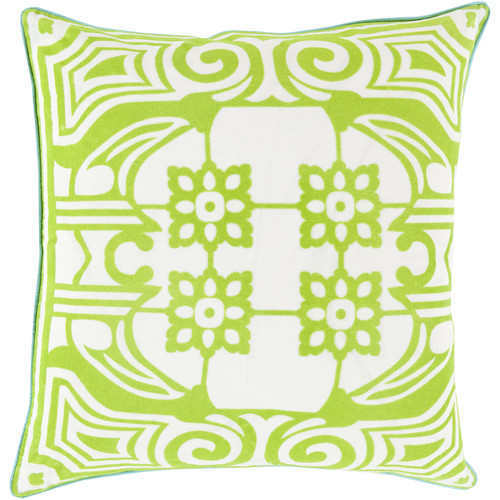 Surya Linen Throw Pillow