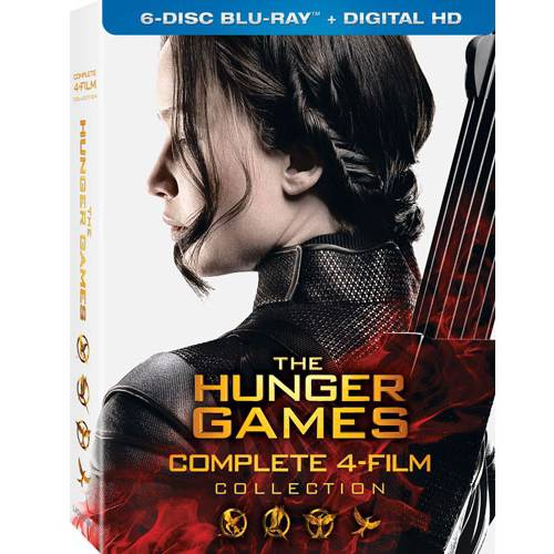 The Hunger Games Collection (Blu-ray + Digital HD) (With INSTAWATCH)