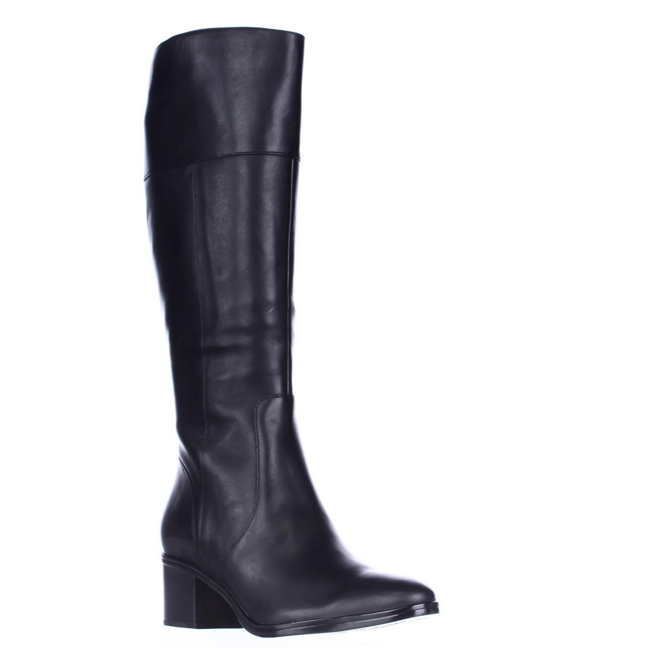 Womens naturalizer Harbor Heeled Riding Boots - Black