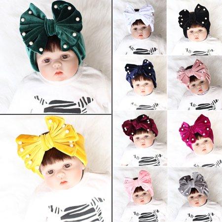 Urkutoba - Cute Kid Girl Baby Toddler Bow Headband Hair Band Accessories  Headwear Head Wrap - Walmart.com 8ad6e351b8d