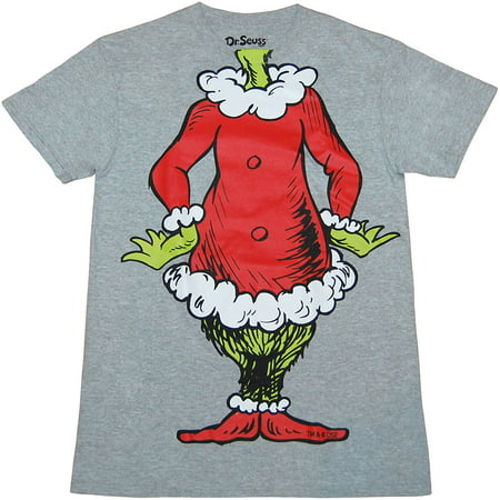 Dr. Seuss Grinch Santa Suit T-Shirt ()
