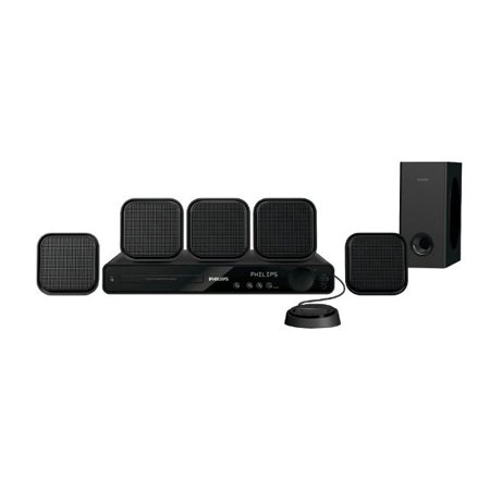 fb4ca41d5 Philips-HTS3371D - Home theater system with iPod cradle - 5.1 ...