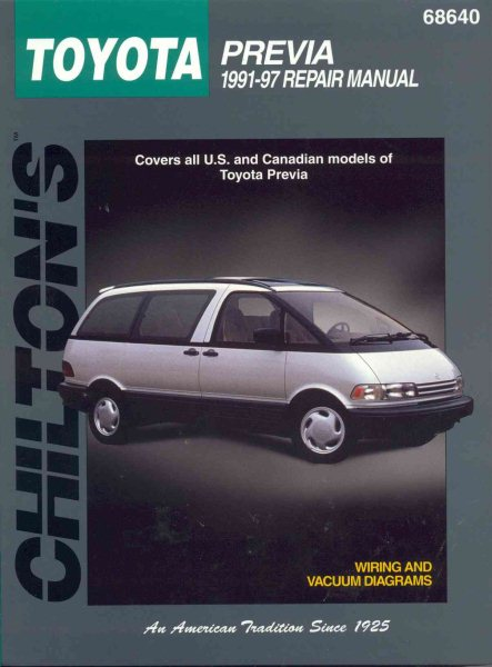 97 Toyota Previa Wiring Diagram Wire Center