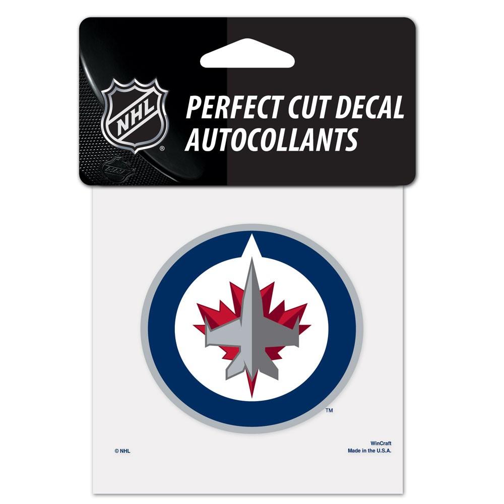 NHL - Winnipeg Jets 4x4 Die Cut Decal