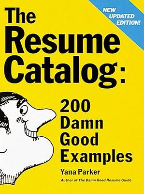 the damn good resume guide