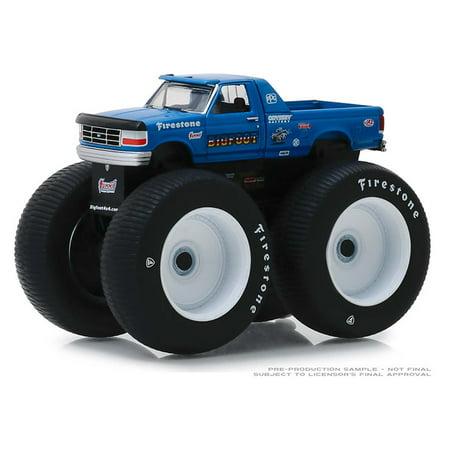 Greenlight 1:64 Kings of Crunch Series 4 -1996 Ford F-250 Monster Truck Bigfoot #5 Diecast Model Car ()