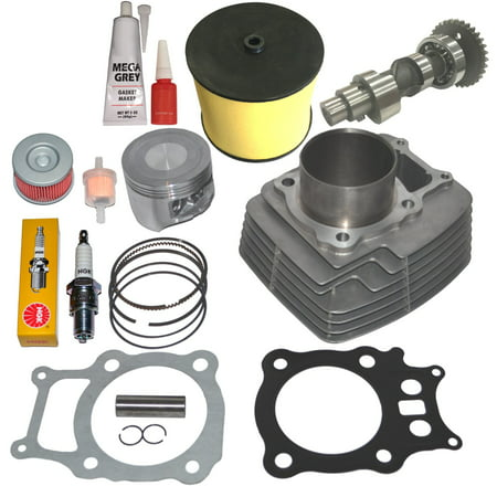 Top Notch Parts Honda Rancher Trx350 TRX 350 Cylinder Piston Rings Camshaft Kit Set 2000-2006