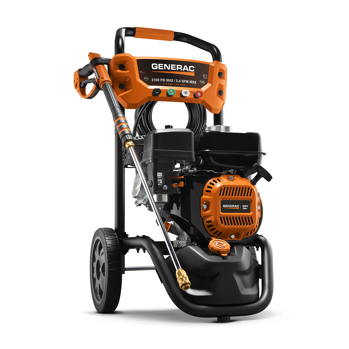 Generac 6923- 3100-PSI 2.4-GPM Axial Cam Pump Gas Pressure Washer by Generac Power Systems