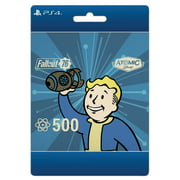Fallout 76: 500 Atoms, Sony Interactive, Playstation, [Digital Download]