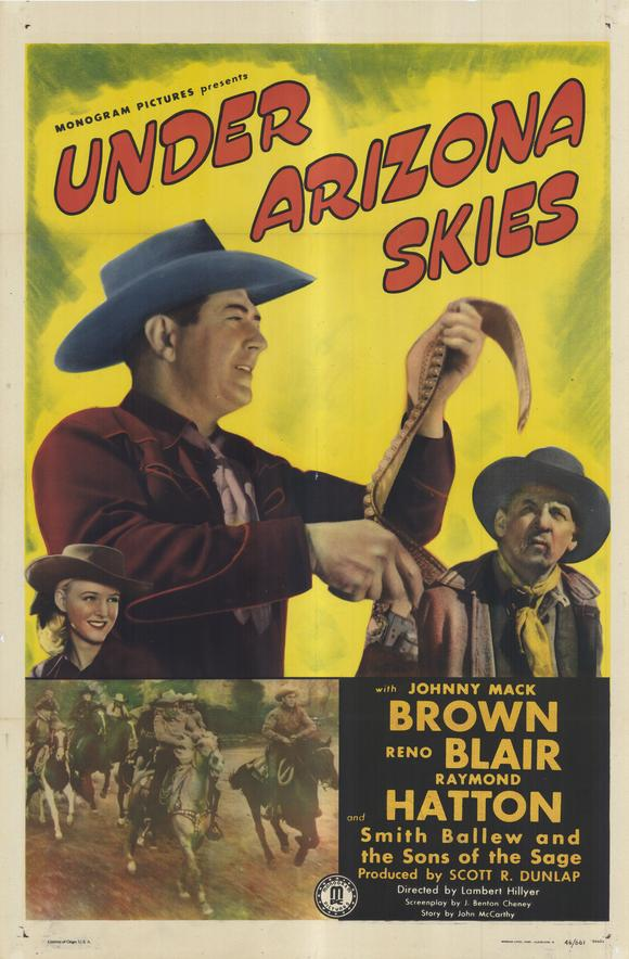 Under Arizona Skies POSTER Movie (27x40) by Pop Culture Graphics