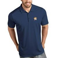 Houston Astros Antigua Tribute Polo - Navy