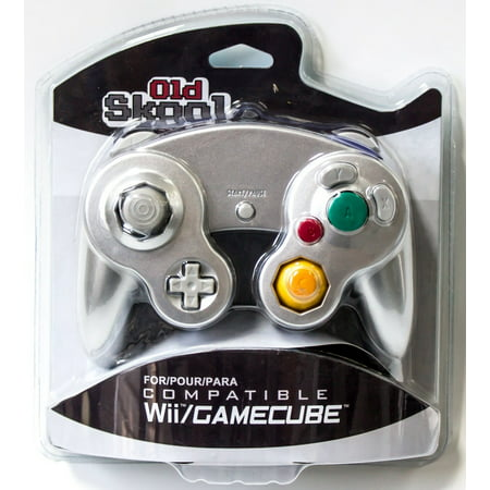 GameCube / Wii Compatible Controller - Silver (Game Cube Wii Controllers)