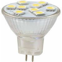 Ming's Mark 12V LED Bulb with MR11 Base, 96 Lumens