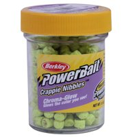 Berkley PowerBait Chroma-Glow Crappie Nibbles