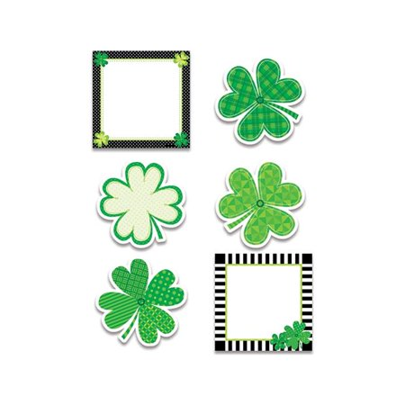 Happy St Patricks Day 6 in. Cut Outs - Patrick Cut Outs