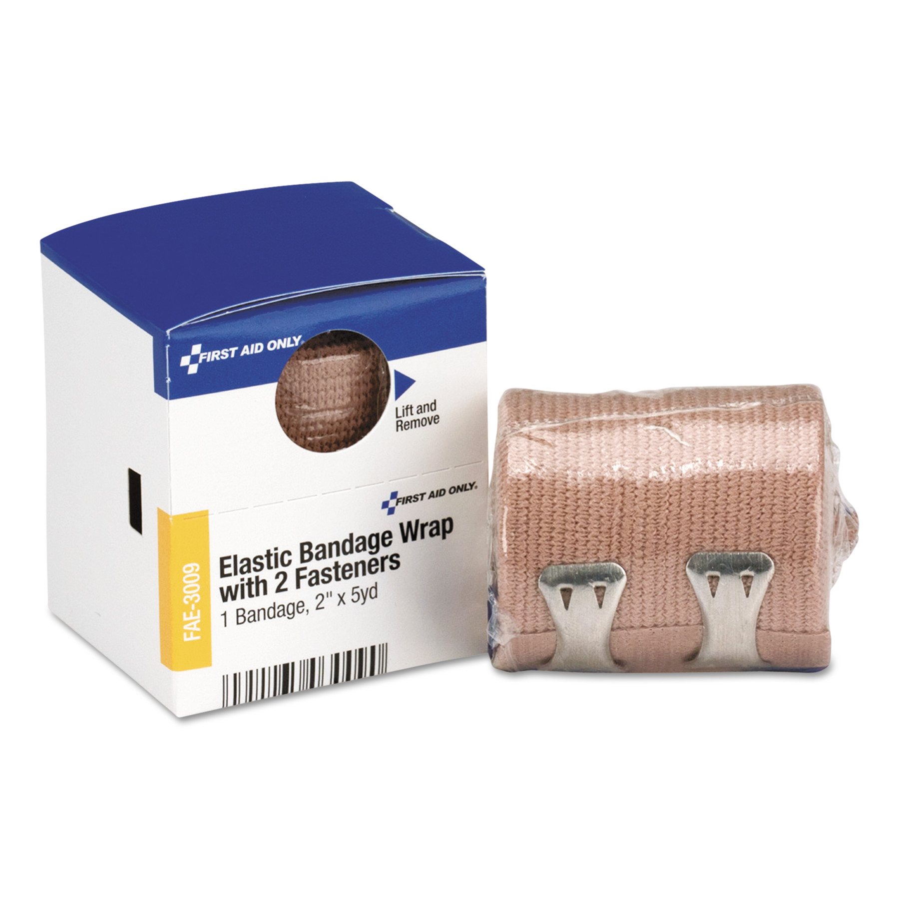 """First Aid Only Elastic Bandage Wrap, 2"""" x 5yds, Latex-Free"""
