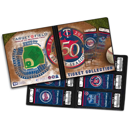 Ticket Album MLB - Minnesota Twins Inaugural Seaso