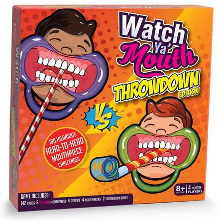 Watch Ya' Mouth Throwdown Game (Halloween Witch Online Games)