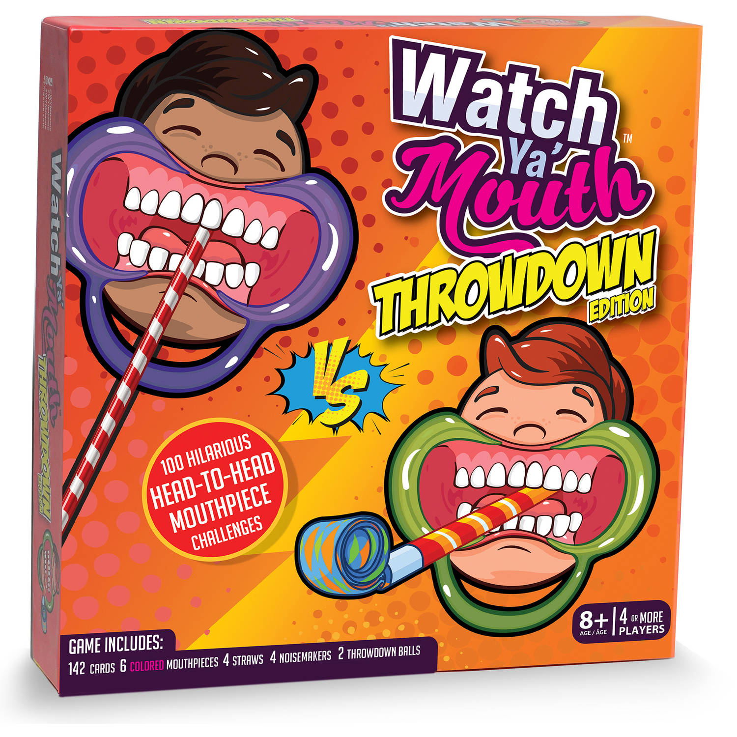 Watch Ya' Mouth Throwdown Game