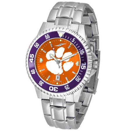 Clemson Competitor Steel AnoChrome Wacth - Color Bezel