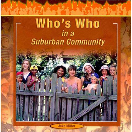 Who's Who in a Suburban Community](Suburban Community)