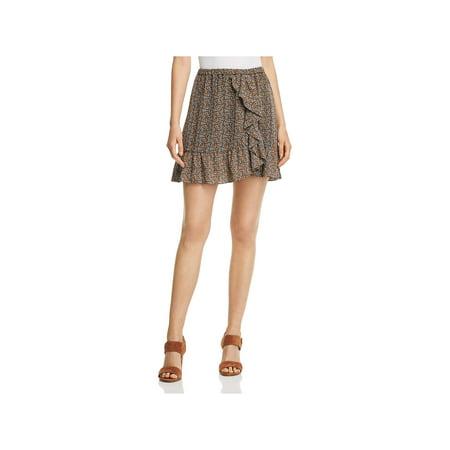 MICHAEL Michael Kors Womens Pop Deco Floral Print Mini Tulip Skirt