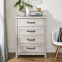 Better Homes & Gardens Modern Farmhouse 4-Drawer Chest, Rustic Gray Finish