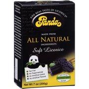 Panda, All Natural Soft Licorice, 7 Oz, 12 Ct